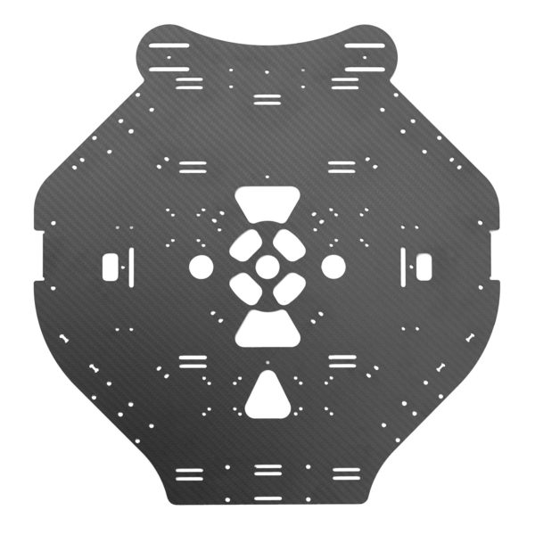 A replacementcenter plate for the OpenPPG 22 v3.1 electric paramotor parts