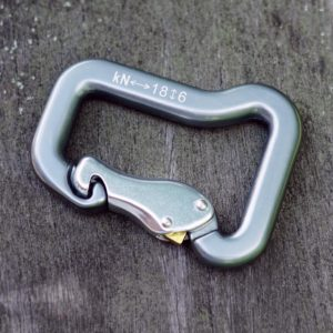 Gate Lock Carabiner Attaches your harness to the risers glider