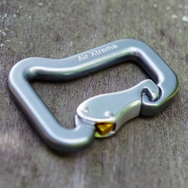 Gate Lock Carabiner paramotoring