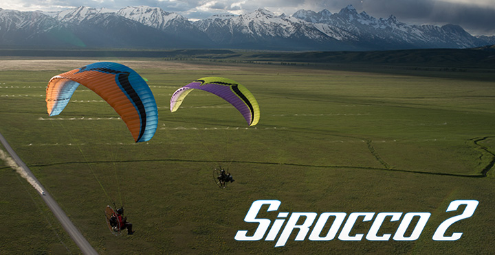 SIROCCO 2 ozone ppg wing