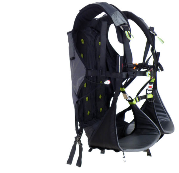 Apco Split Leg Paramotor Harness (LOW Hook-In Points) PPG