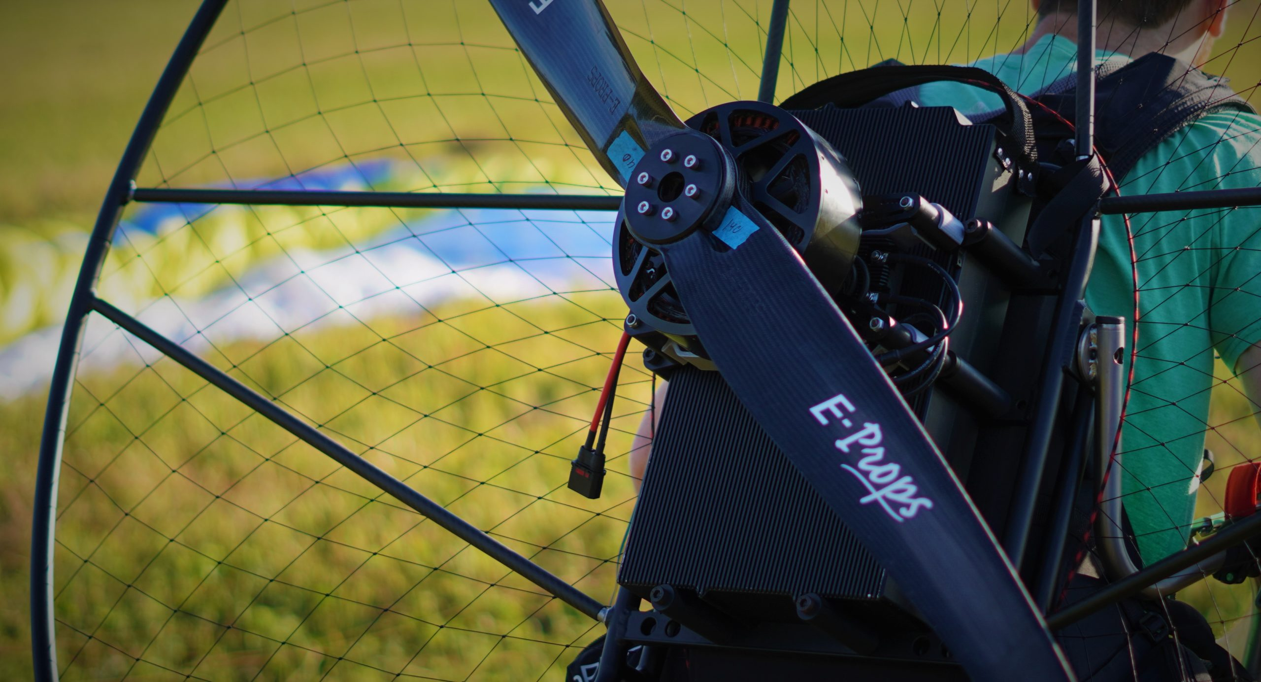 sp140 electric paramotor